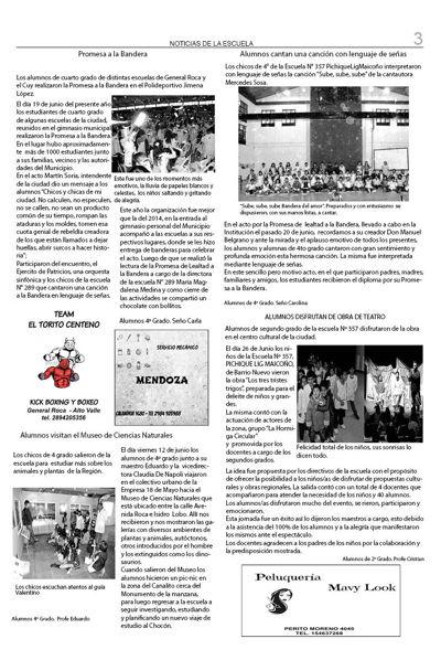 Diario Escuela 357 en Redacción 2015