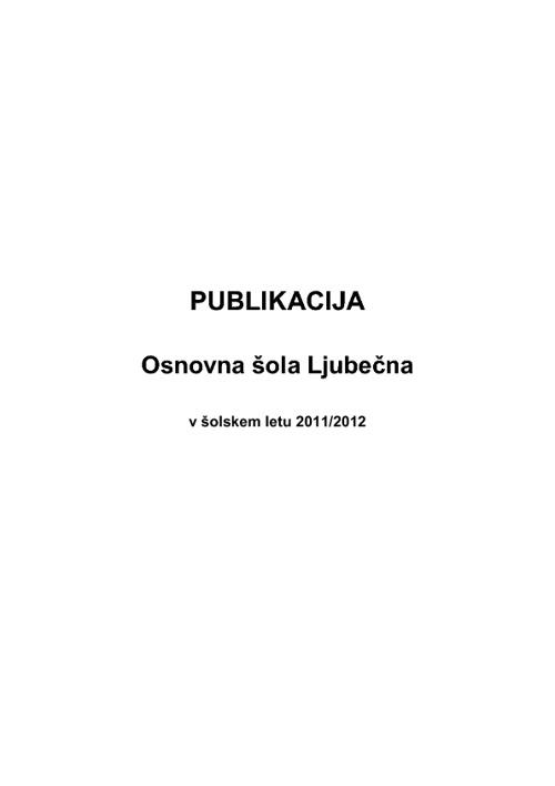 Publikacija 2011/2012