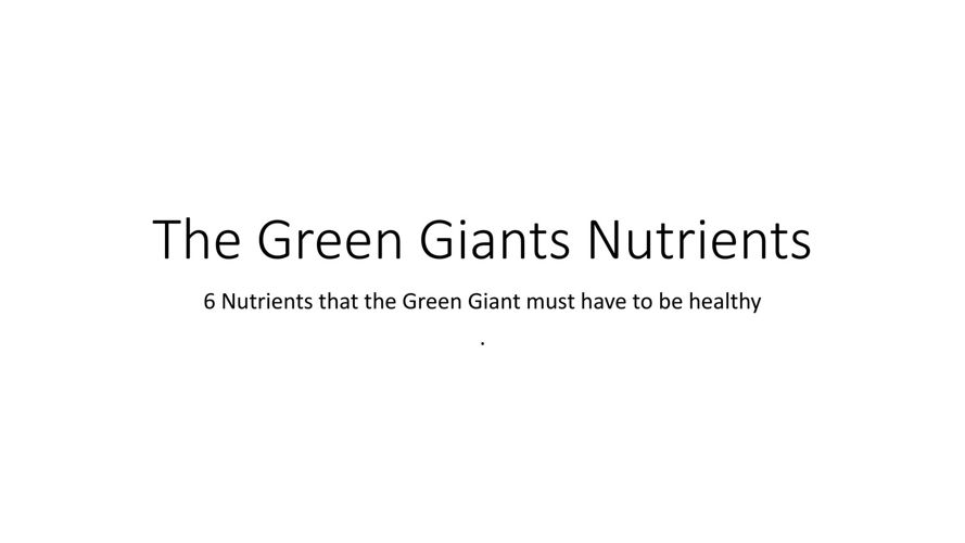 The Green Giants Nutrients