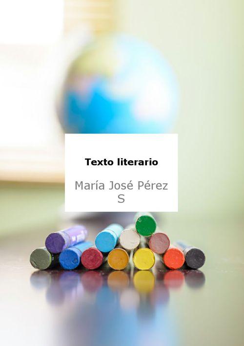 Texto Literario Maria Jose Perez Soriano 2D