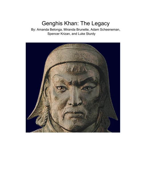 Genghis Khan: The Legacy