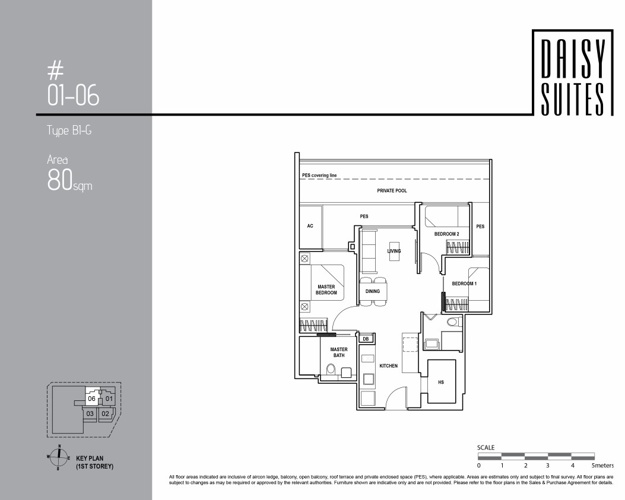 3 Bedroom (Ground Floor)