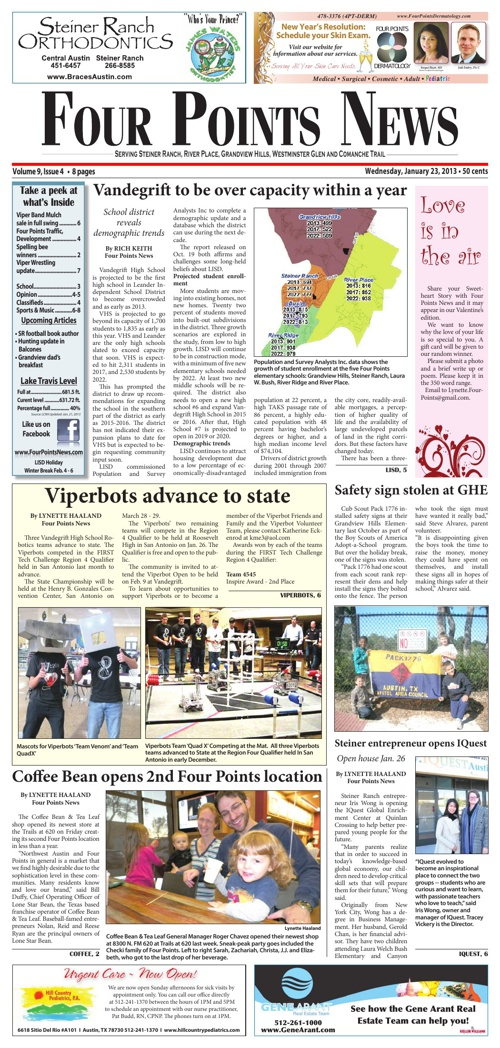 Four Points News January 23 2013 Issue