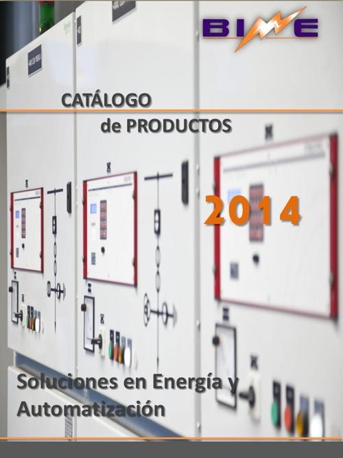 Catalogo de productos BIME v1.0