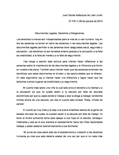 19) Juan Carlos Velázquez de León Julián 2º-6- Argumentativo
