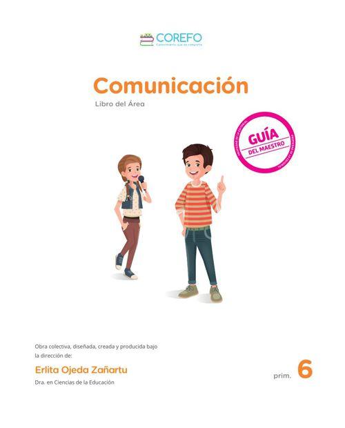 Libro del área - Comunicación - 6 Primaria