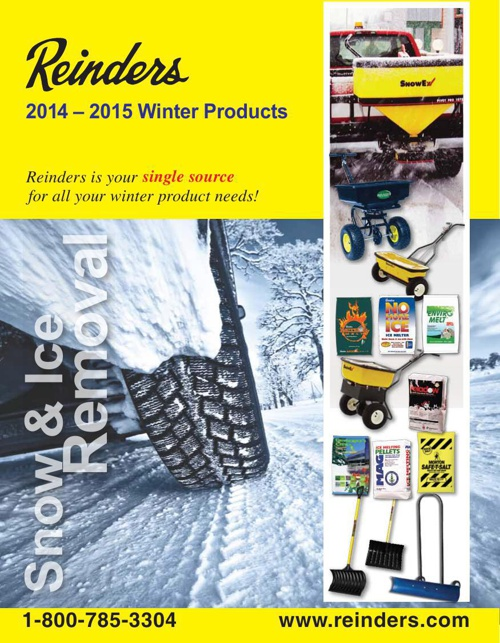2014-15 Reinders Winter Products User Brochure