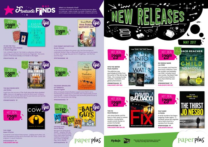 New Releases MAY 2017