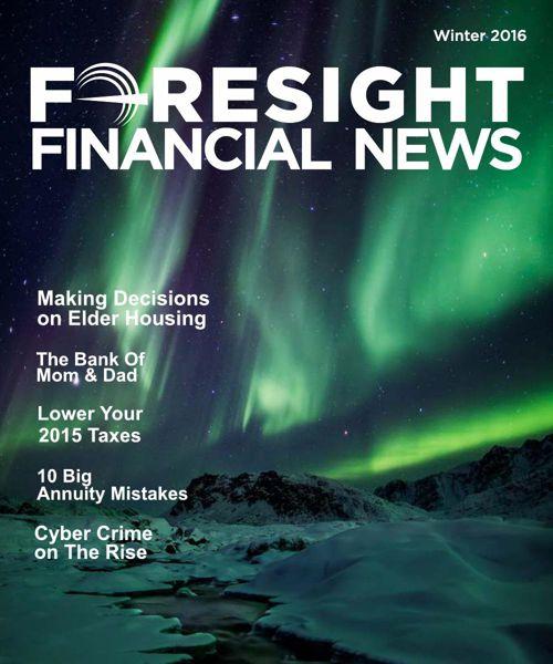 Foresight Financial News - Winter 2016