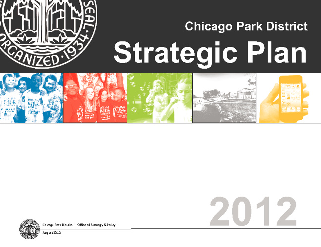 Chicago Park District Strategic Plan (2012)