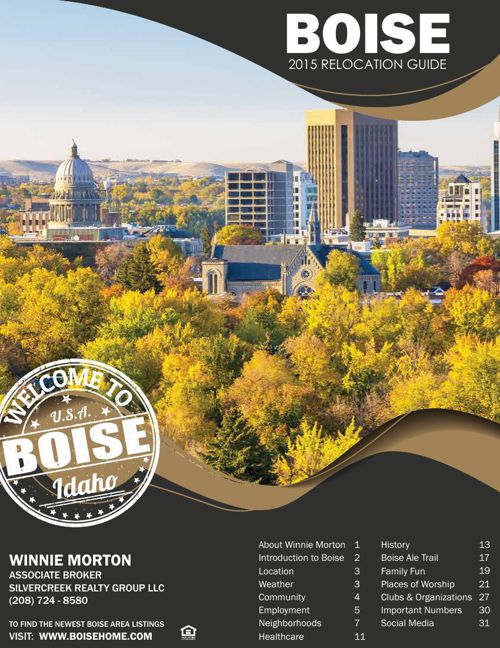 2015 Boise Relocation Guide