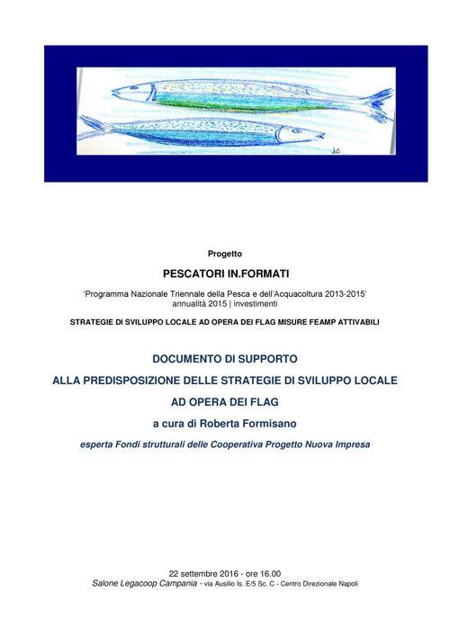 Convegno Legacoop Pesca - Napoli 22 Set. 2016