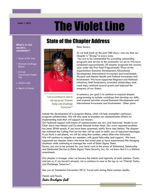 QCA Violet Line