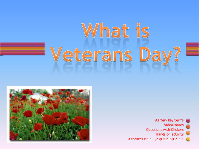 What is Veterans' Day?