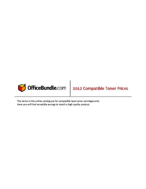 Toner Catalog
