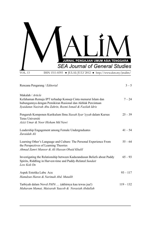 Jurnal MALIM
