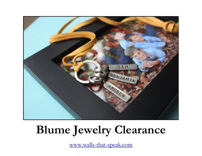 Blume Jewelry Clearance