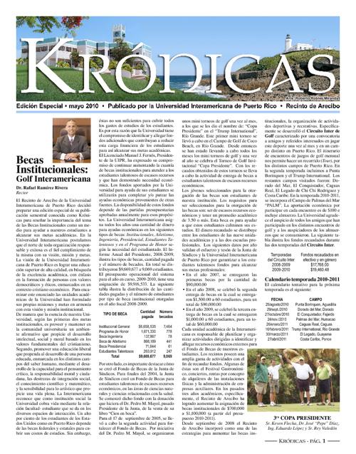 Periódico Krónicas - Edición Especial, verano 2010