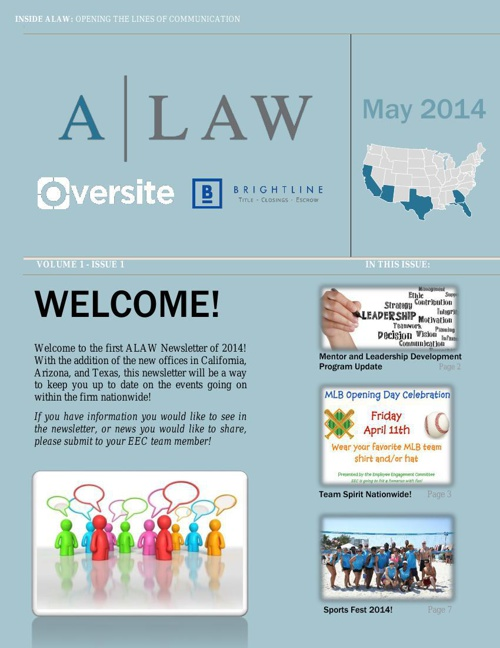 May 2014 Newsletter - ALAW Times