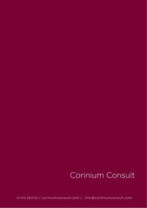 Corinium Consult Brochure