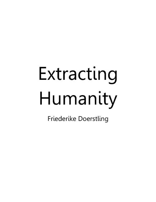 Extracting Humanity