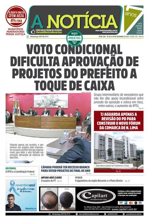 Jornal A Notícia - Edição 308