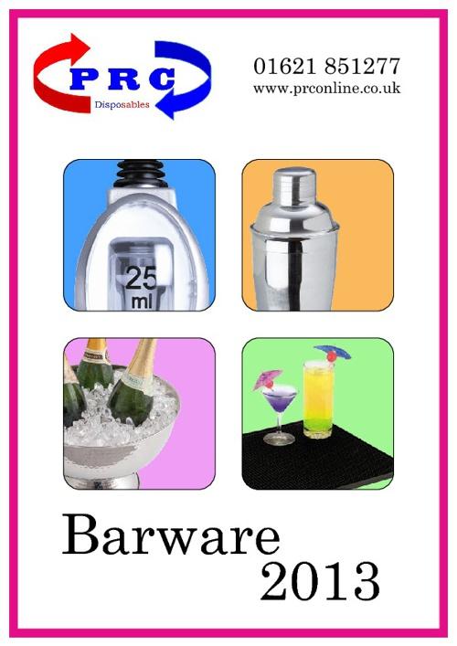 PRC Bar Supplies Catalog 2013