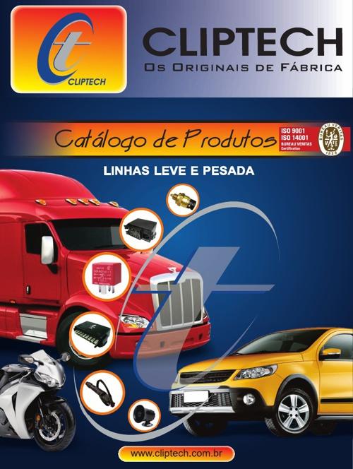 CATALOGO DE PRODUTOS CLIPTECH - LINHA AUTOMOTIVA