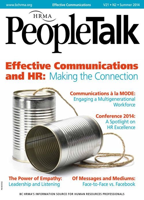 PeopleTalk: Summer 2014