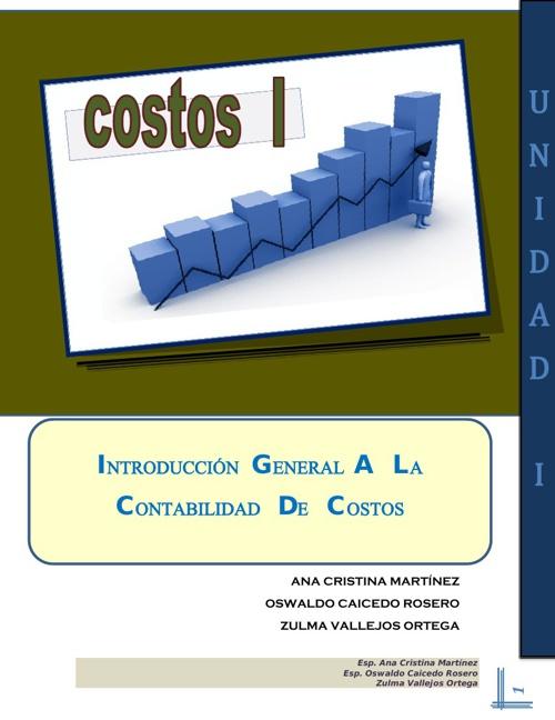 COSTOS I - MODULO UNIDAD I