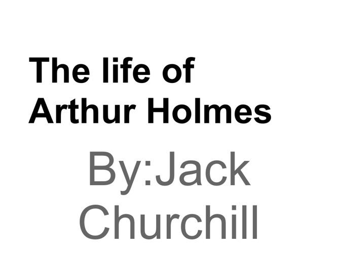 P1 JChurchill Holmes