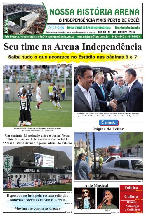 Jornal Nossa História Arena