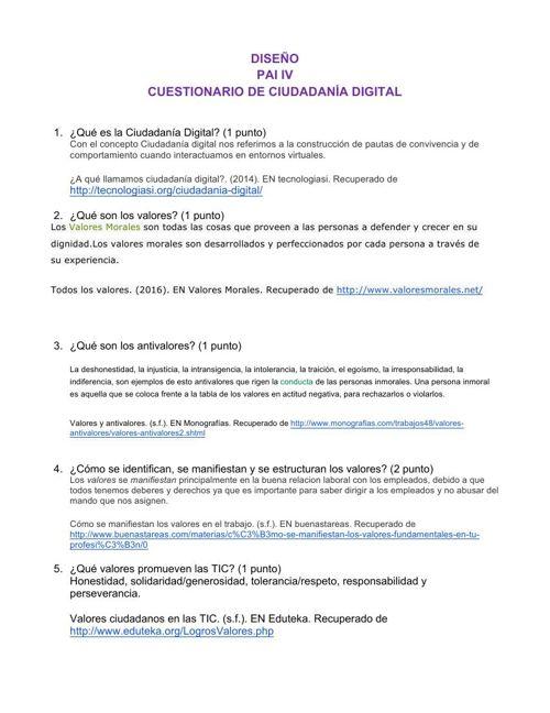 Rúbrica COMPORTAMIENTOS DIGITALES