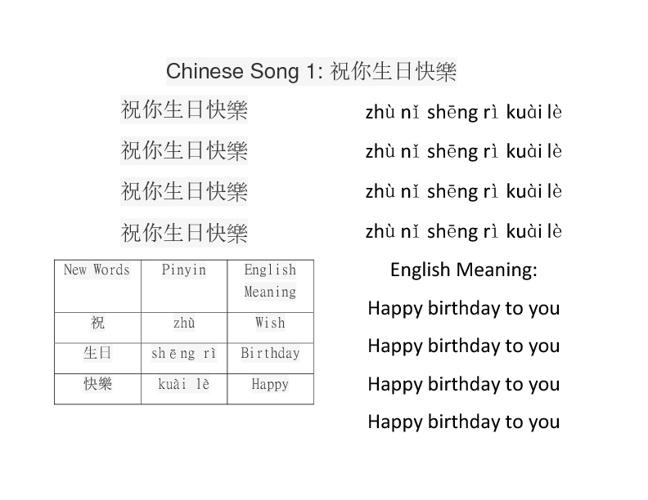 Let's Sing Mandarin 3 9 sample songs