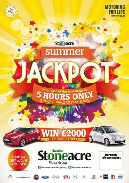 Stoneacre Jackpot Summer 2014