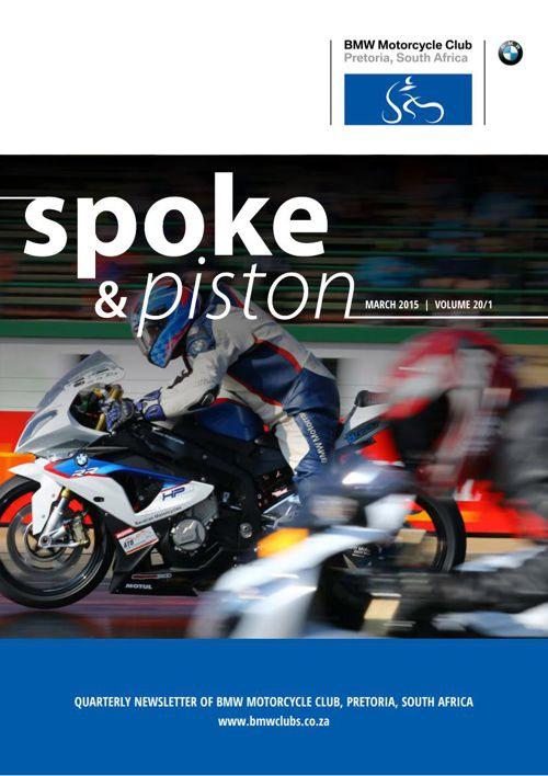 Spoke & Piston March 2015