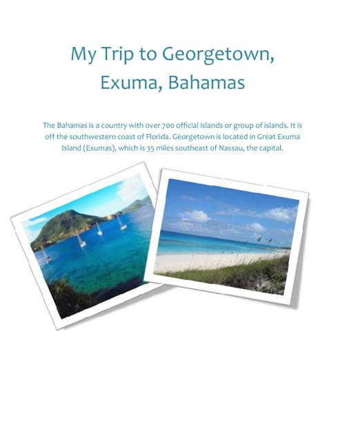 George Town, Exuma, Bahamas