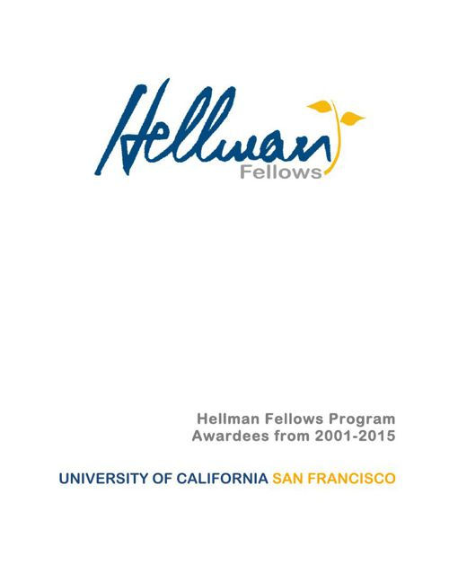 2015 UCSF awardees booklet