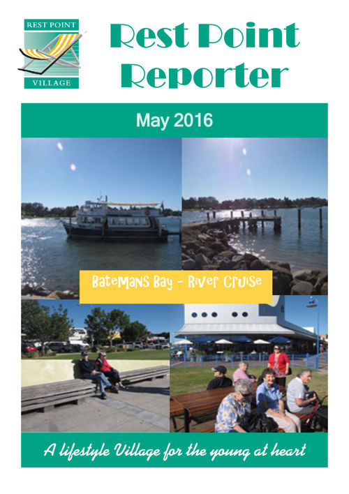 Rest Point Reporter - May 2016