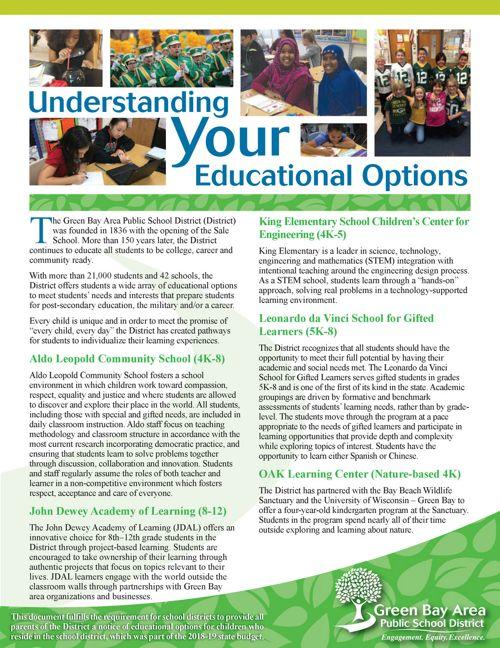 Educational Options 2018
