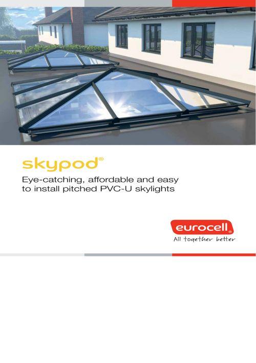 skypod lantern roof eurocell brochure