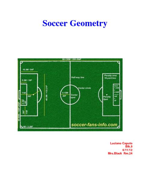 Soccer Geometry