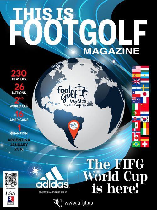 HagginOaksThis is FootGolf Magazine - December 2015