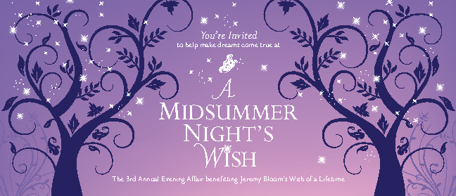 Jeremy Bloom's A Midsummer Night's Wish