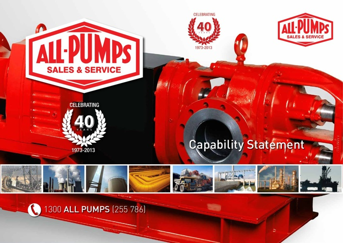 All Pumps Capability Statement