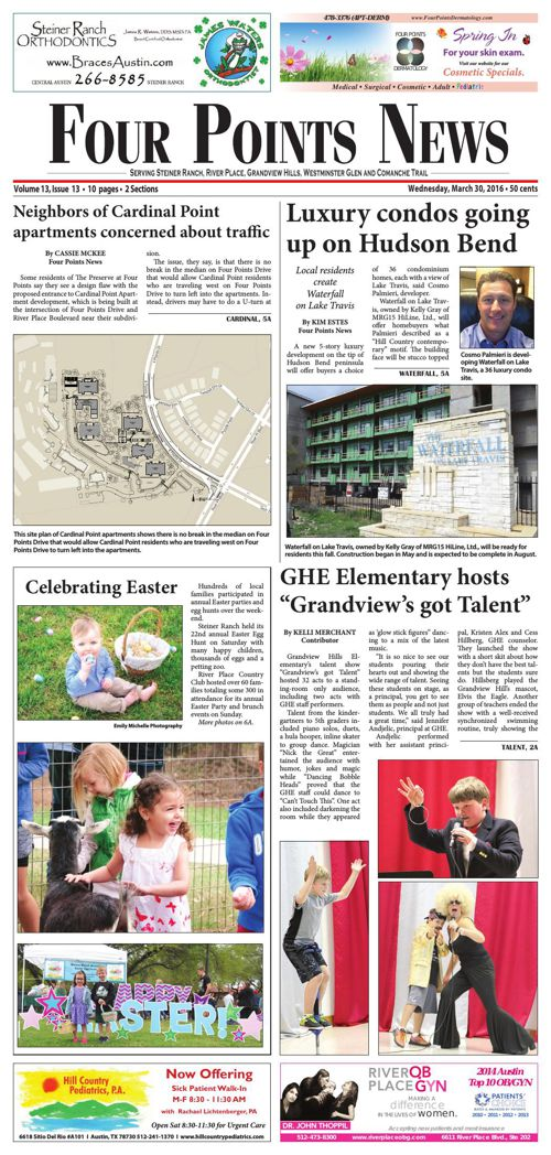 Four Points News March 30 2016