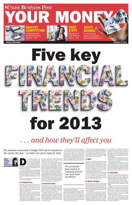 Your Money 20-1-2013