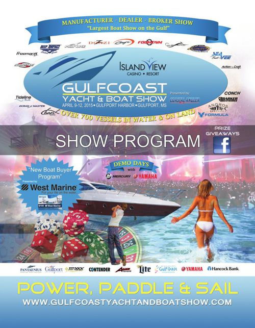 2015 Gulfcoast Yacht and Boat Show Program