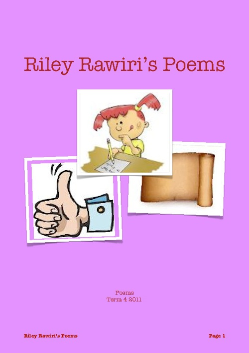 Riley's Poetry Book