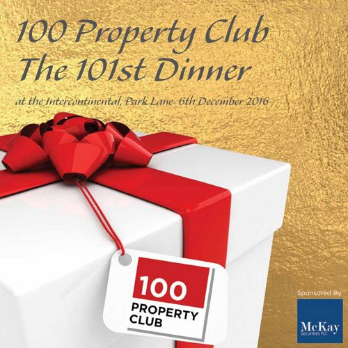 100 Property Club 101st Christmas Dinner Brochure